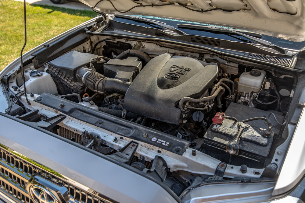How To Clean Your Engine Bay - 3rd Gen Tacoma