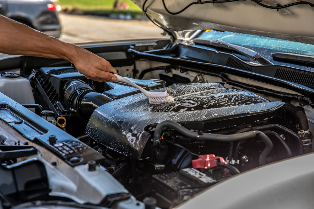 How and Why to Clean an Engine Bay