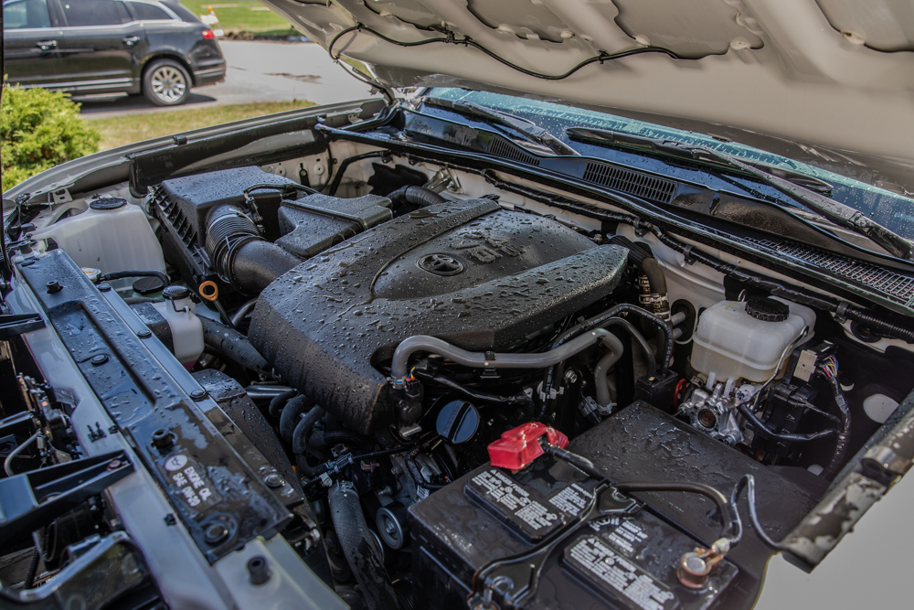 Cleaning the Engine Compartment