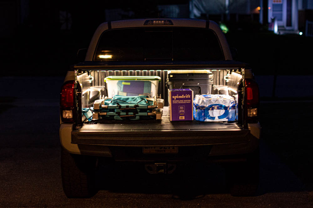 Matt Gecko LED Bed Light Kit Review for 3rd Gen Tacoma