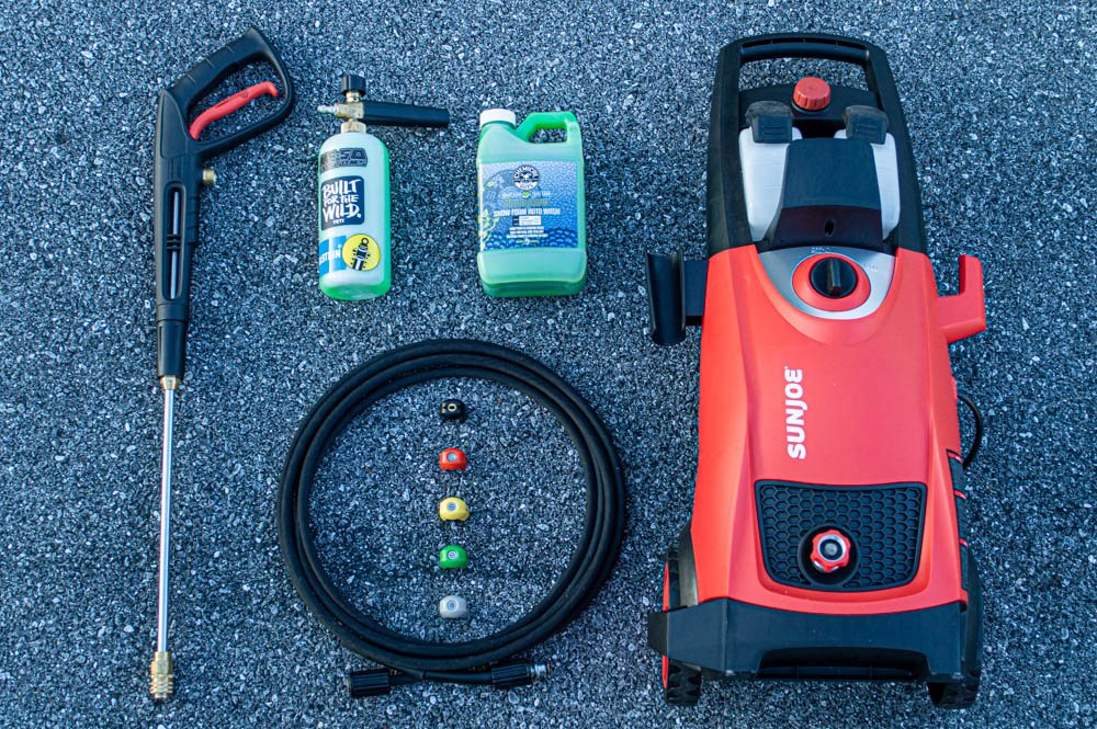 Specifications & Features for SunJoe SPX3000 Electric Power Washer