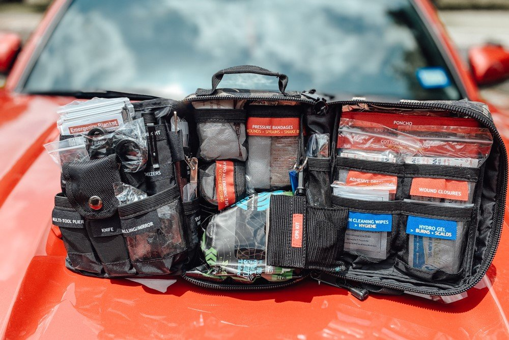 Surviveware Survival First Aid Kit Contents