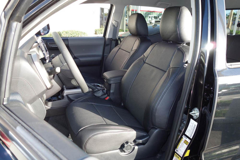 Leather Seat Covers for 3rd Gen Toyota Tacoma