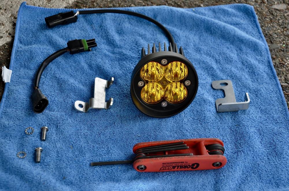 Install for Baja Designs Fog Light Kit for 3rd Gen Tacoma