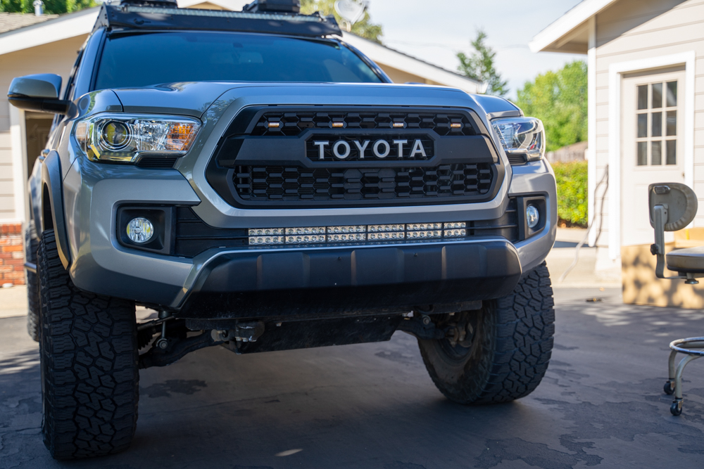 Body Armor Steel Front Bumper Install on 3rd Gen Tacoma - Bumper Cut