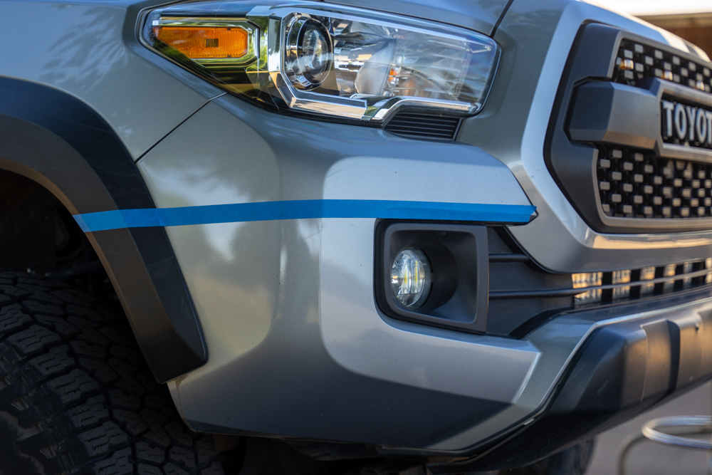 How-To Cut Front Bumper on 3rd Gen Toyota Tacoma
