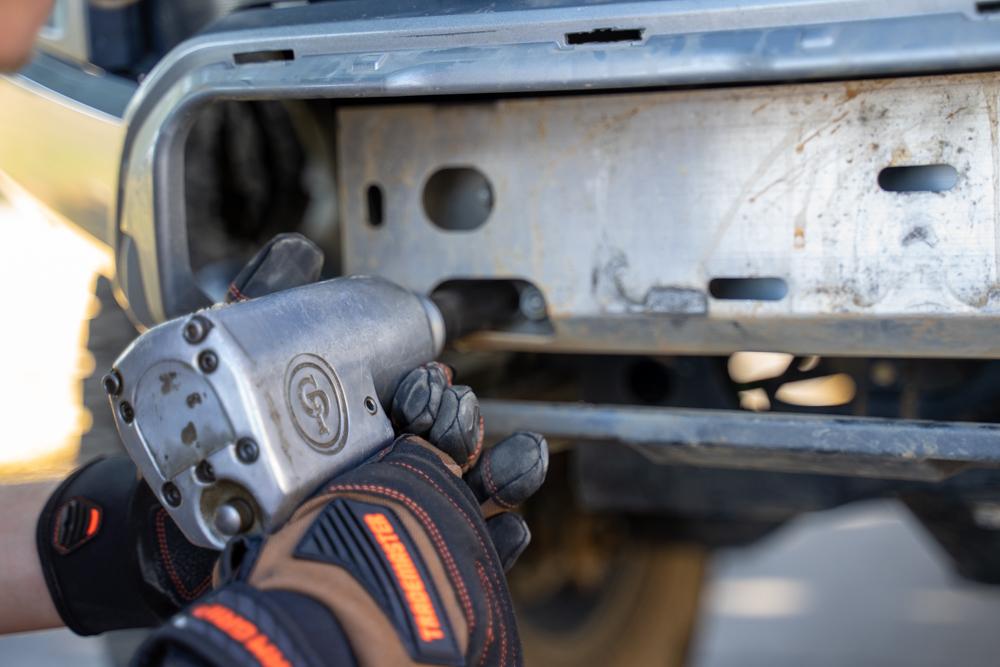 Removing Aluminum Crash Bar on 3rd Gen Toyota Tacoma