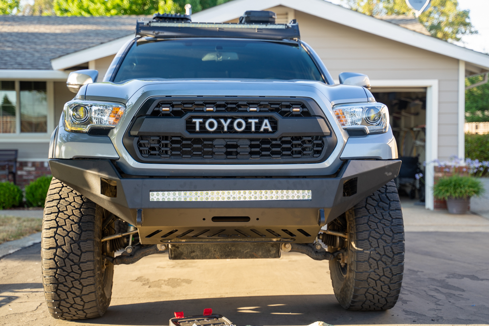 Body Armor 4X4 Pro Series Winch Front Bumper Step-By-Step Install for 3rd Gen Tacoma