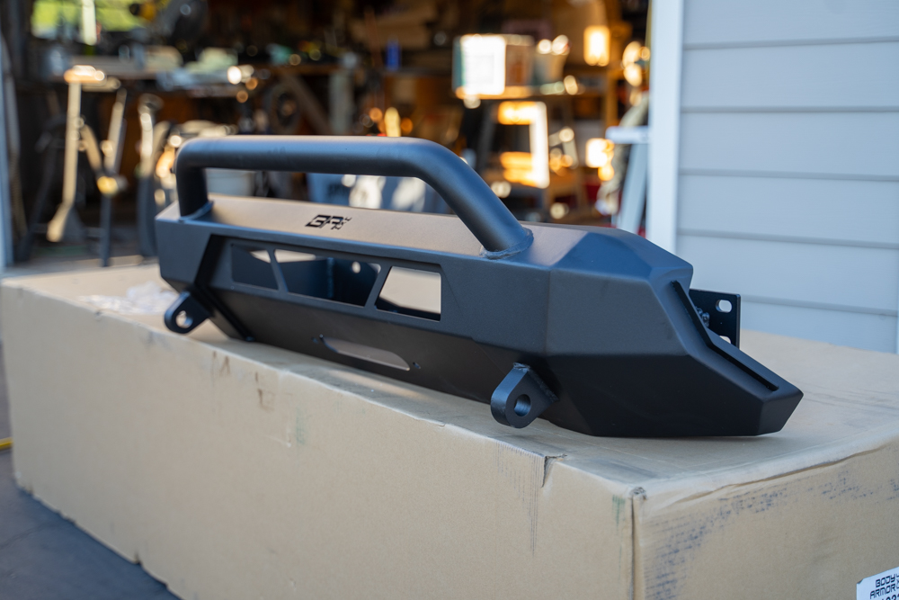 Slim, Low-Profile Steel Winch Bumper for 3rd Gen Tacoma