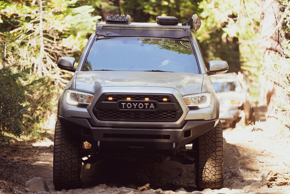 Pro Series Steel Front Winch Bumper by Body Armor 4X4 Install for 3rd Gen Tacoma