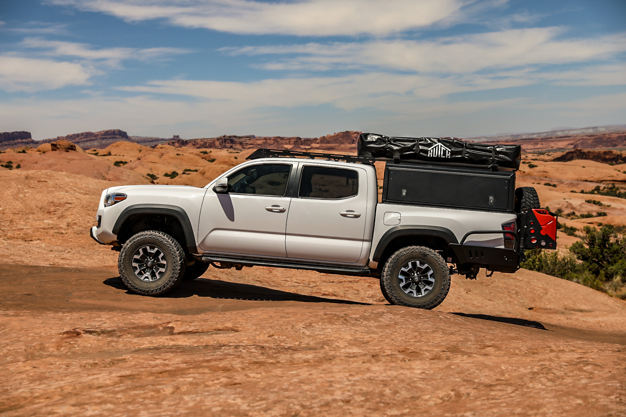 Hutch Tents Daly 2 - Compact Rooftop Tent on 3rd Gen Tacoma