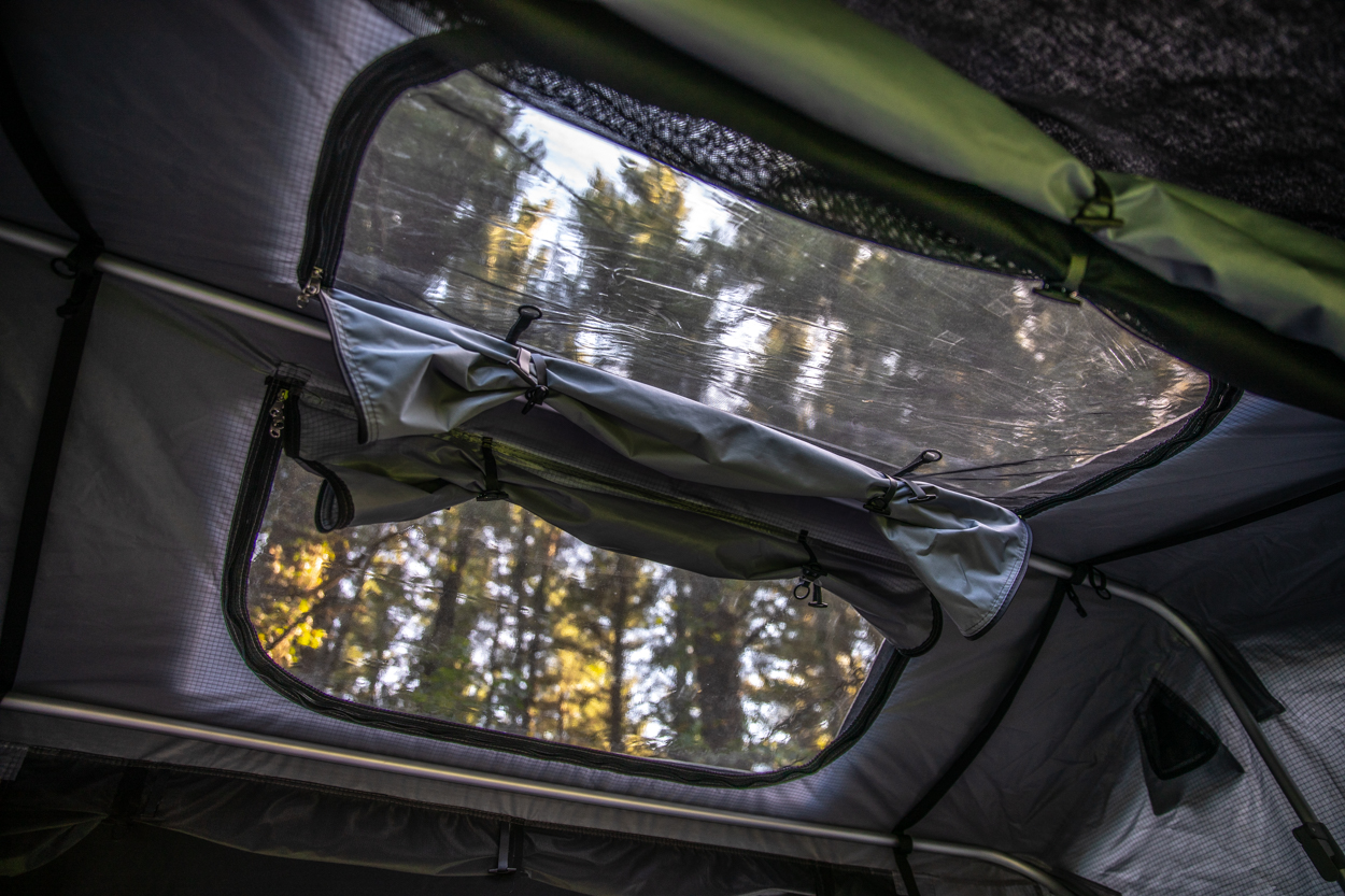 Skylight on Hutch Tents Daly 2 Rooftop Tent