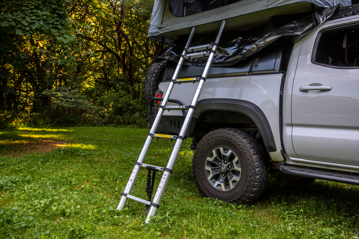 Telescopic Ladder for Hutch Tents Rooftop Tent