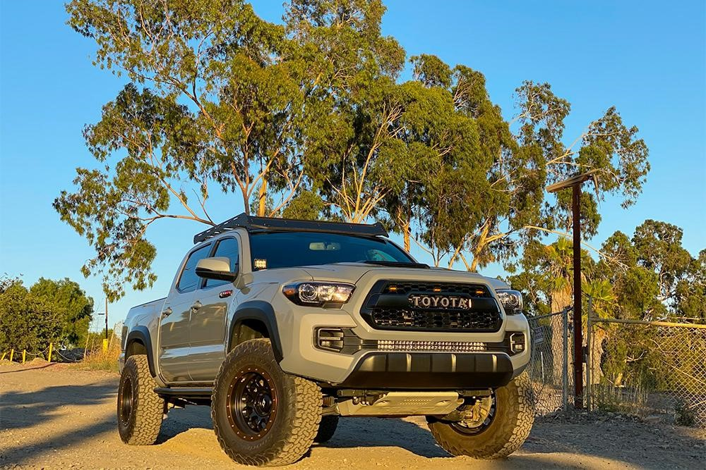 Review for Wescott Designs Lift Kit on 3rd Gen Cement TRD Pro Toyota Tacoma