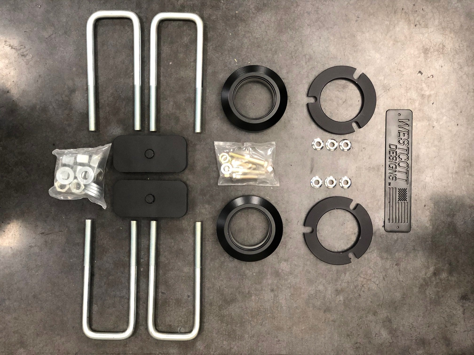 Wescott Designs Lift Kit Components for TRD Pro 3rd Gen Tacoma