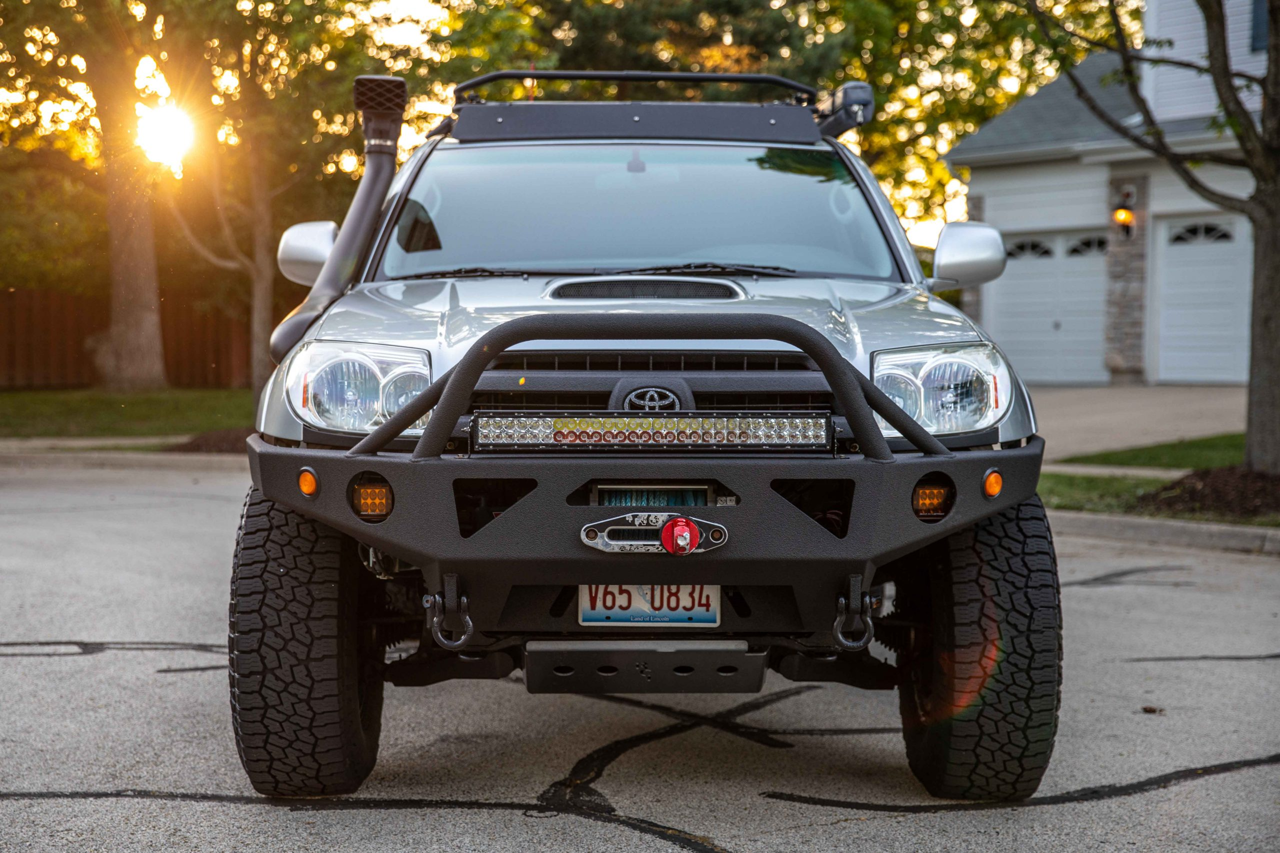 Built Overland & Off-Road Silver 4th Gen Toyota 4Runner