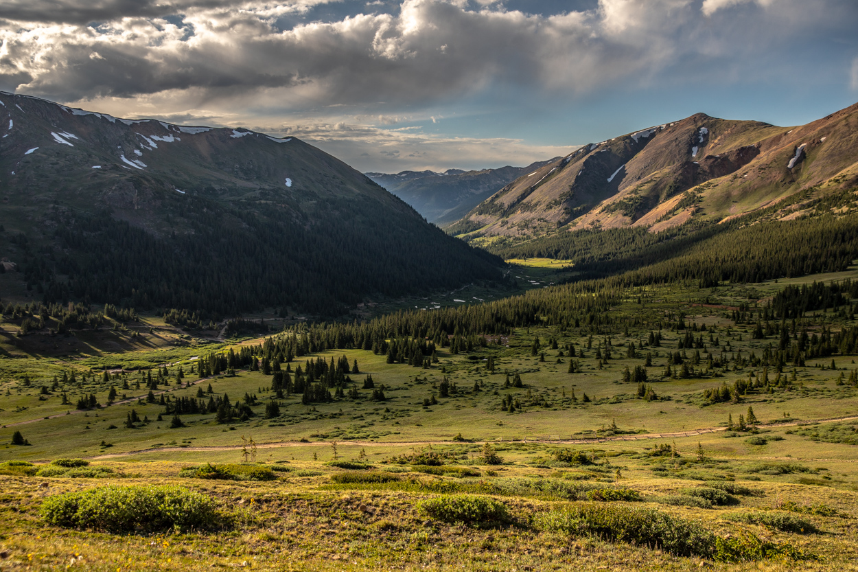 Views from Red Cone Pass near Denver, Colorado
