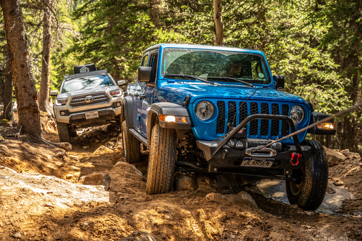 Red Cone Pass Trail Report - Jeep Gladiator & 3rd Gen Toyota Tacoma