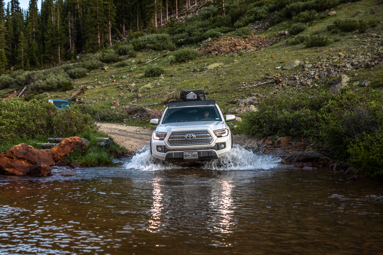 3rd Gen Toyota Tacoma Water Crossing