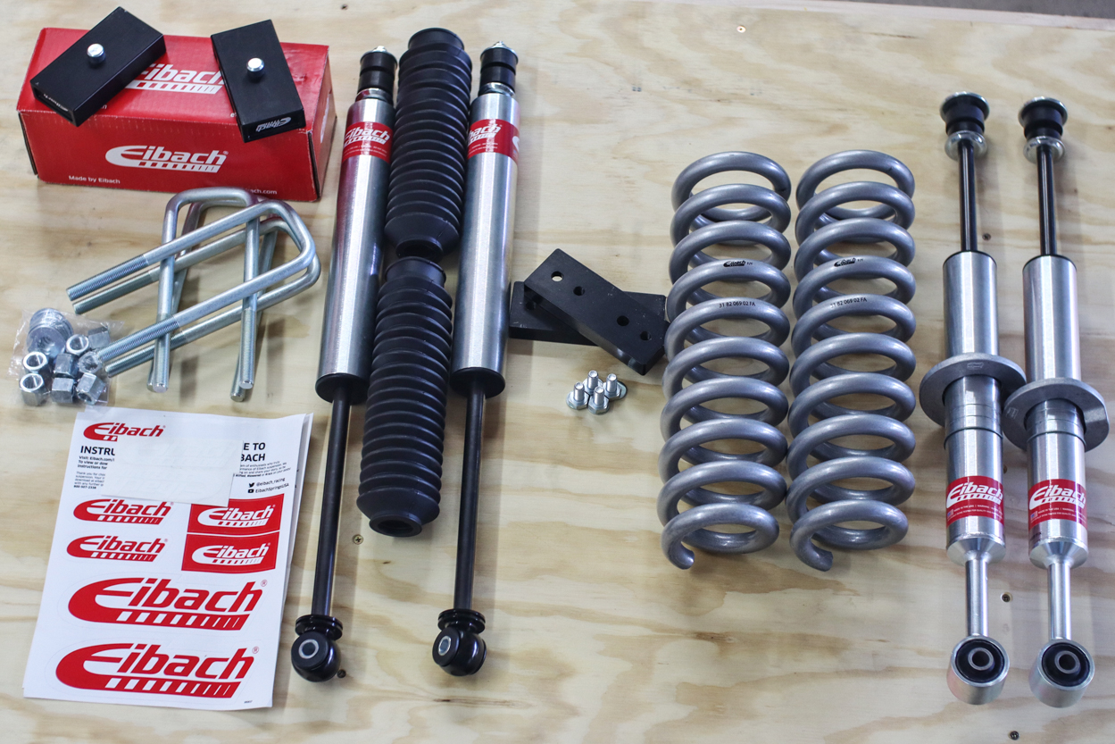 Eibach Stage 1 Pro-Truck Lift Kit Full Review for 3rd Gen Tacoma