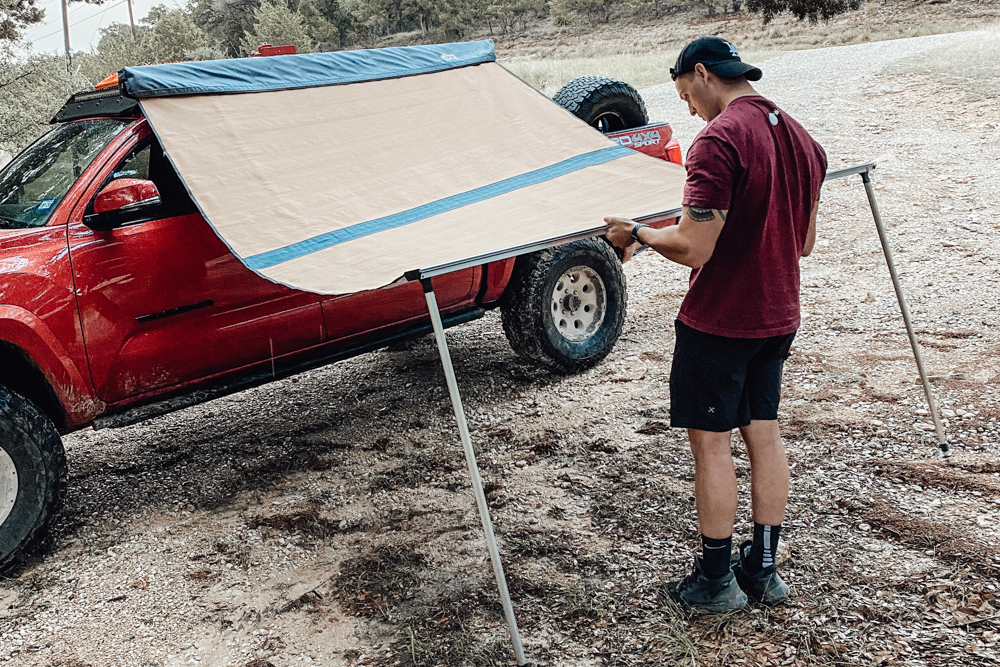 Setting up Instructions for ARB Retractable Awning