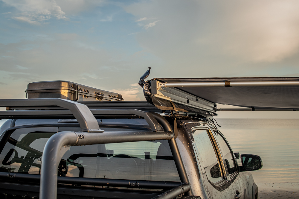 Best Roof Rack Awning on 3rd Gen Toyota Tacoma