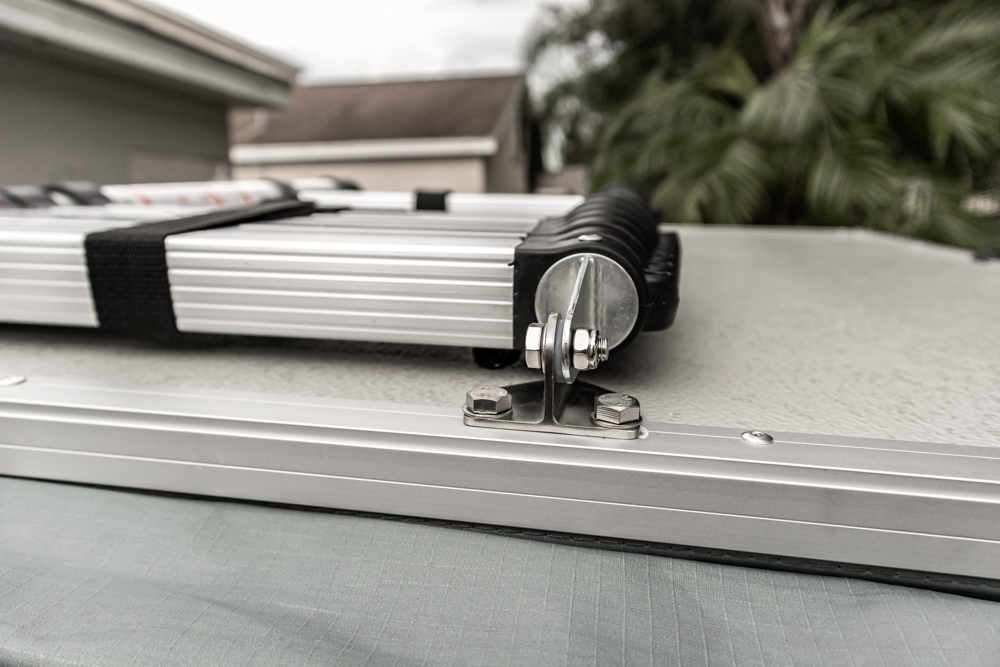 Telescopic Ladder for Body Armor 4X4 Rooftop Tent