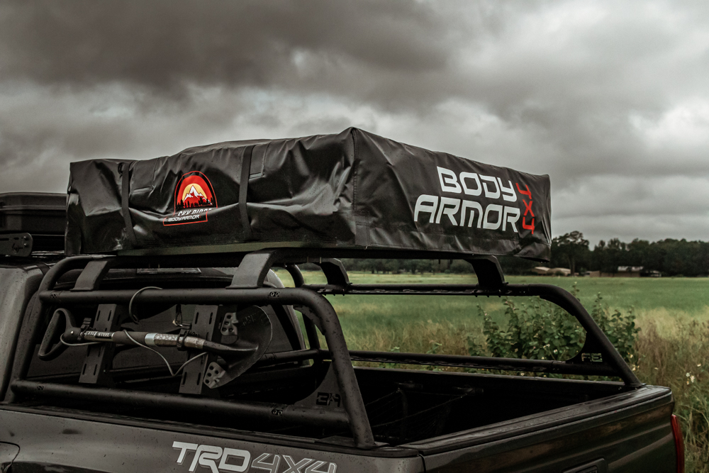 Body Armor 4x4 Sky Ridge Series Pike 2-Person Roof Top Tent Install & Review