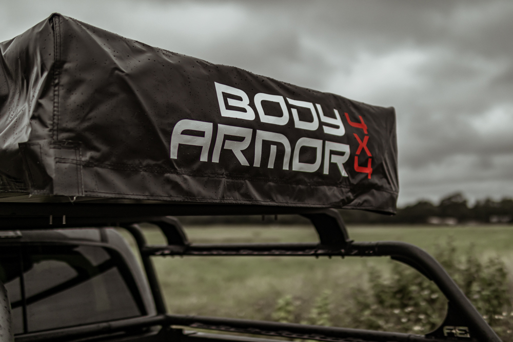 Body Armor 4X4 Tent Cover Install