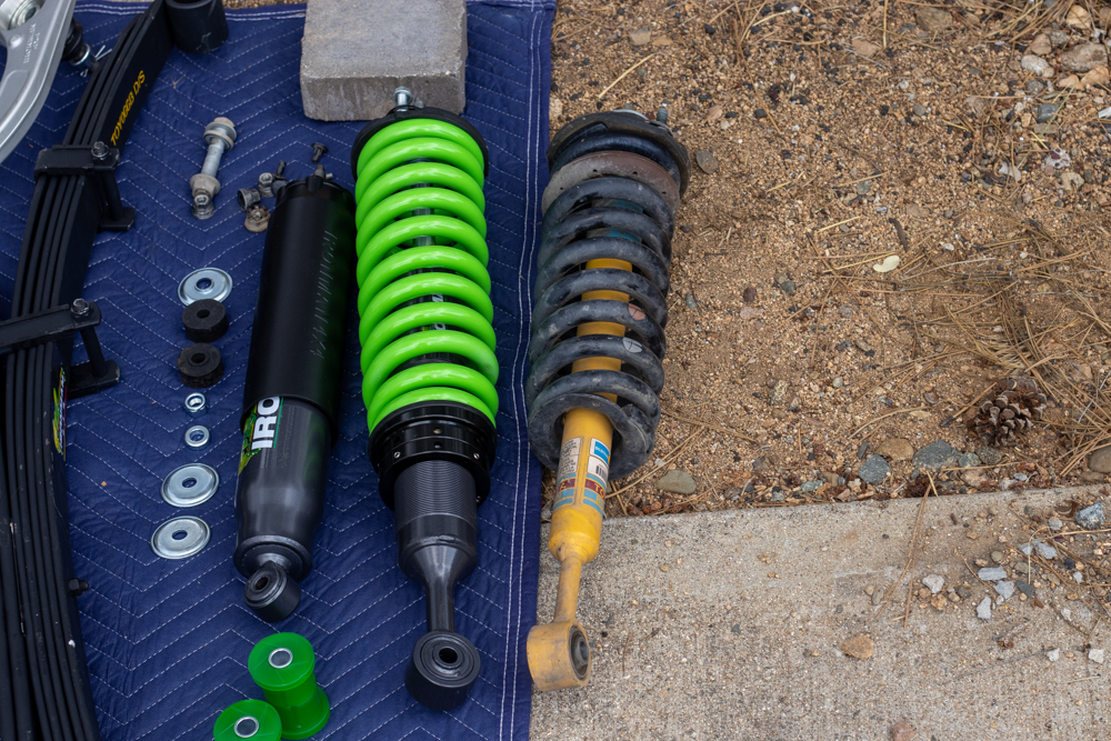 Ironman 4X4 Shocks VS OEM Shocks for 3rd Gen Toyota Tacoma