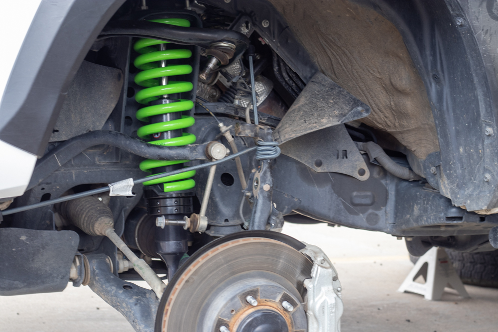 How To Install Front Shocks on 3rd Gen Toyota Tacoma