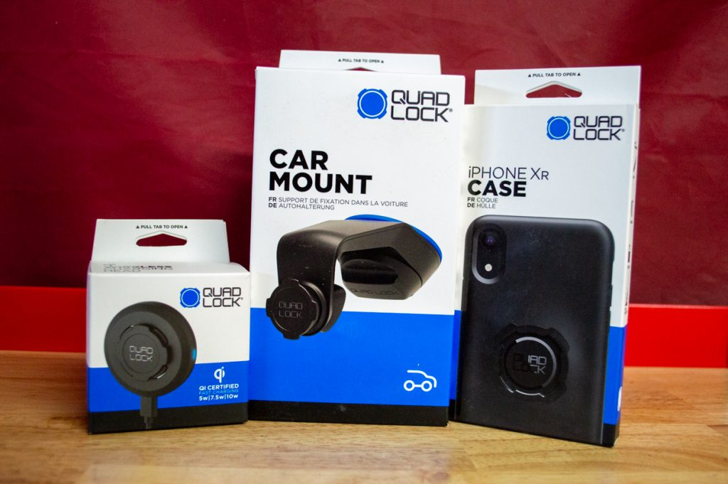 Quad Lock Car Mount, iPhone Case & Wireless Charging Head Review