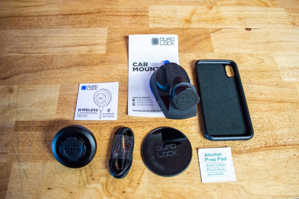 Unboxing the Quad Lock Vehicle Drive System with Wireless Charging