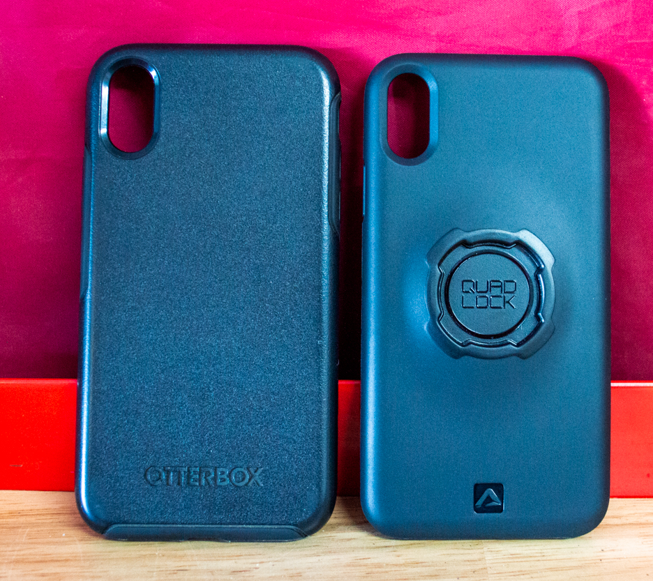 Quad Lock Drive System Compatible Phone Case VS Otterbox Phone Case