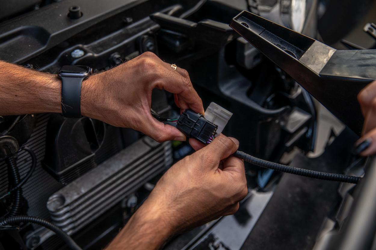 Disconnecting OEM Toyota Safety Sense (TSS) Sensor on 3rd Gen Tacoma