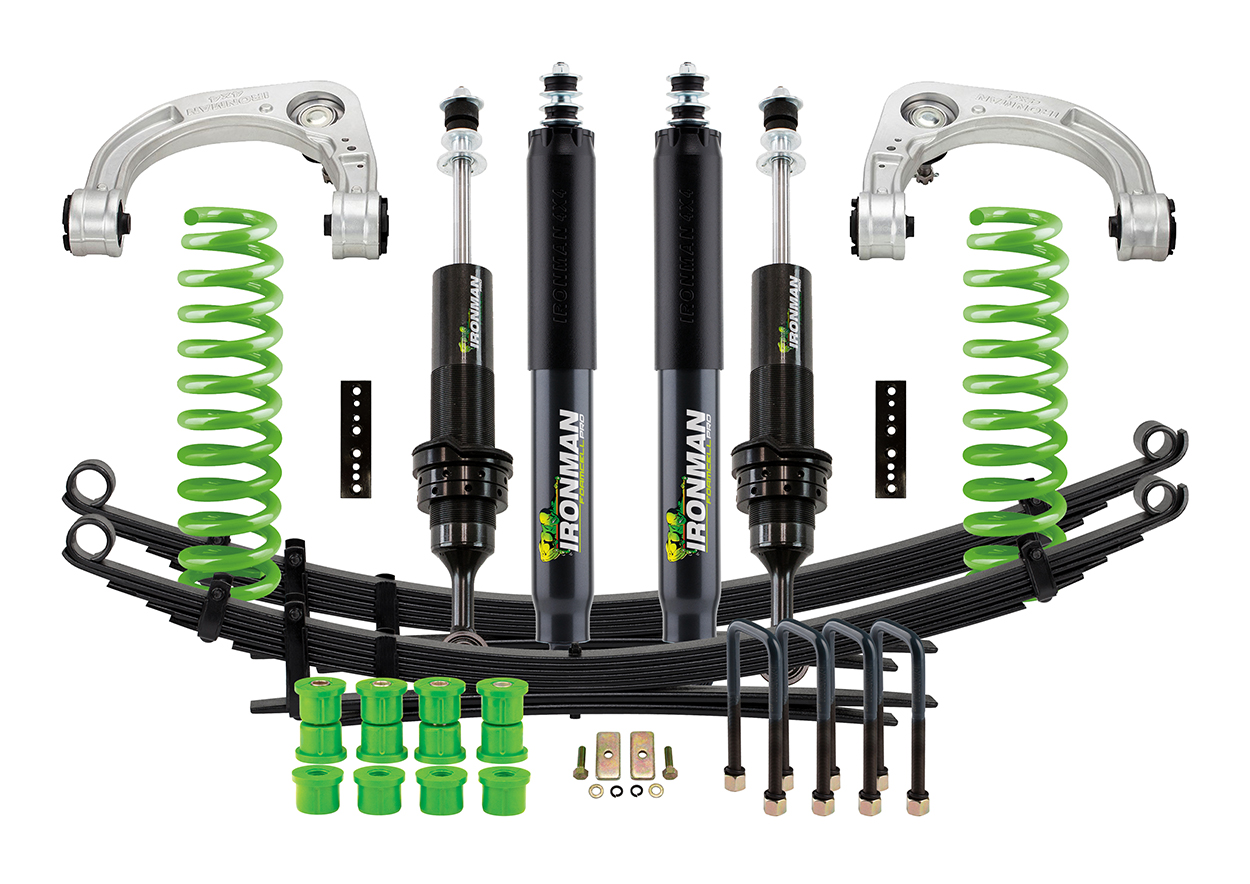 The Ironman 4X4 Foam Cell Pro Stage 2 kit is a truly complete kit.