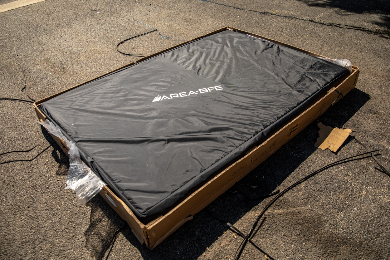 AreaBFE Black Series Aluminum Hard Shell Rooftop Tent Unboxing