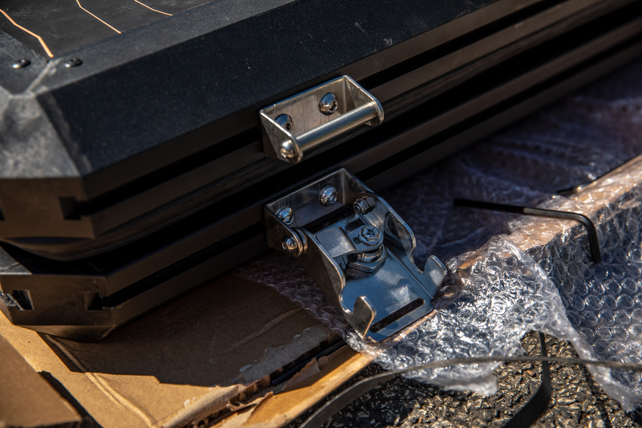 Installing Latches for AreaBFE Black Series Aluminum Hard Shell Rooftop Tent