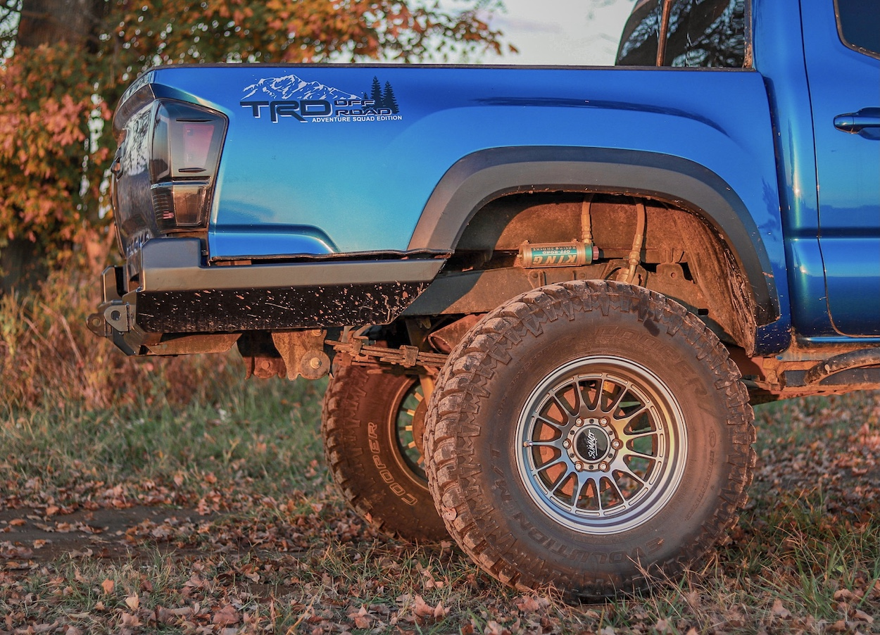 At The Helm (ATH) High Clearance Steel Rear Bumper on 3rd Gen Toyota Tacoma