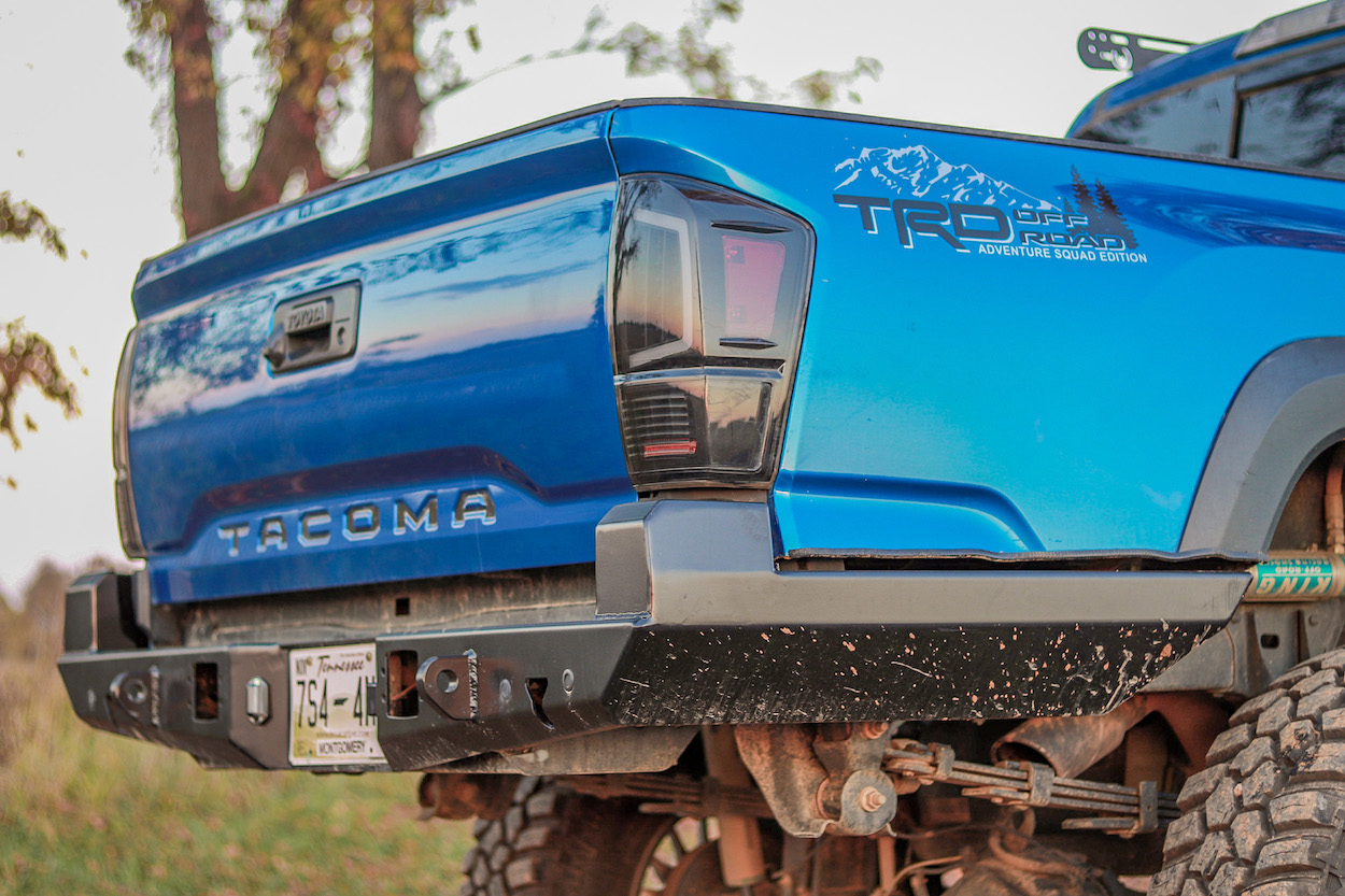 High Clearance Steel Bumper for 3rd Gen Toyota Tacoma