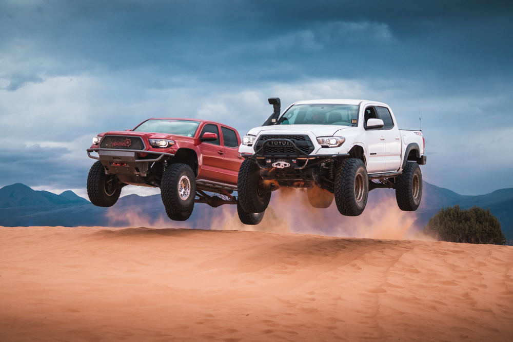 Lifted Off-Road & Overland 3rd Gen Tacomas with 37-Inch (37s) Tires