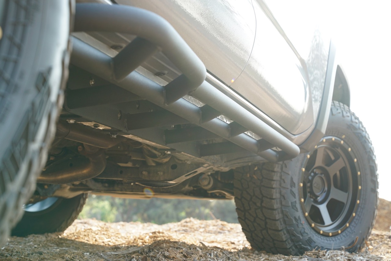 Bolt-On Rock Sliders on 3rd Gen Toyota Tacoma
