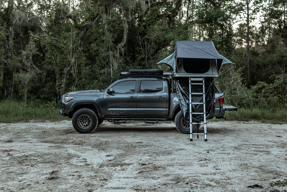 Soft Shell Rooftop Tent by Body Armor 4X4 Complete Review & Overview