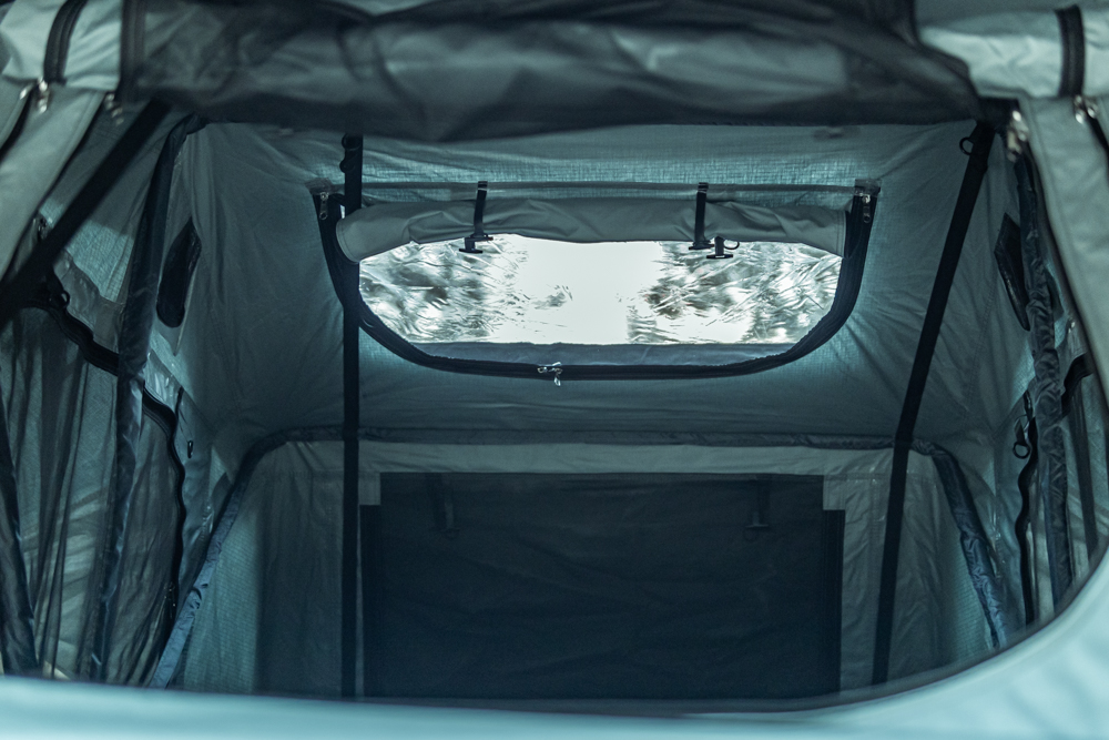 Body Armor 4X4 Sky Ridge Series Pike 2-Person Rooftop Tent - Interior Specifications
