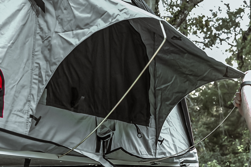Body Armor 4X4 2-Person Rooftop Tent Features