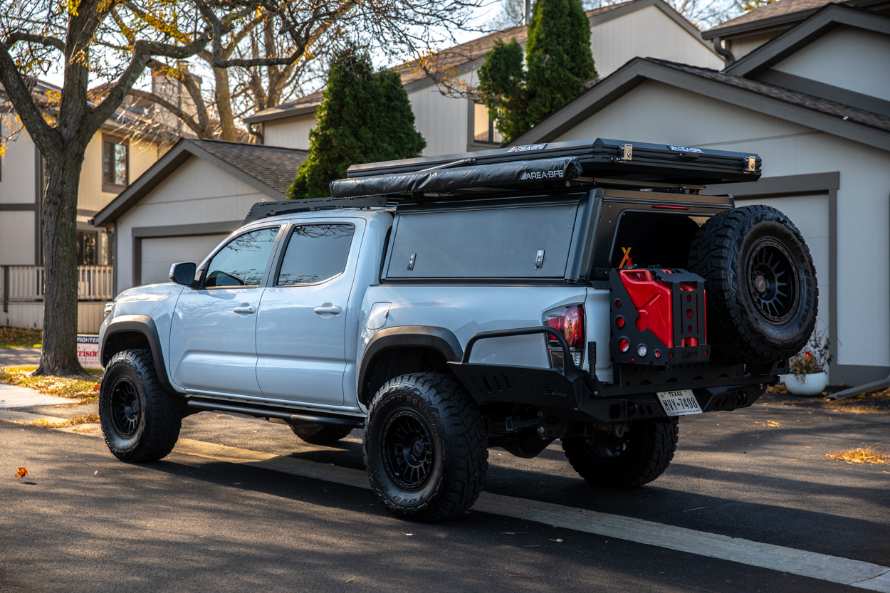 AreaBFE Black Series Hard Shell Rooftop Tent Install & Setup