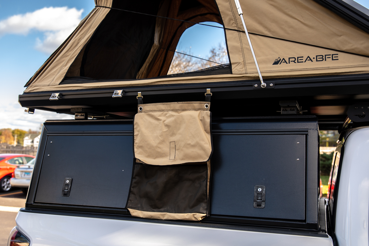 Shoe & Storage Bag for AreaBFE Aluminum Hard Shell Rooftop Tent