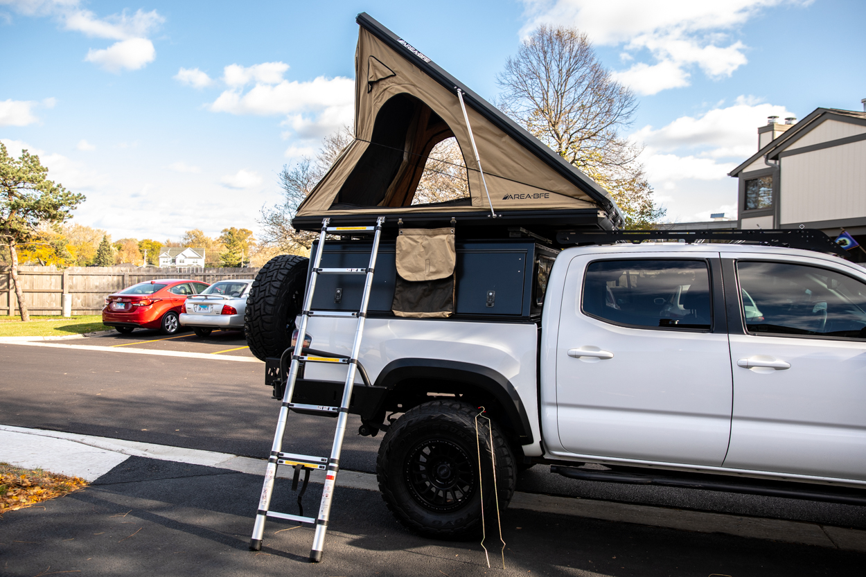 Full Install & Setup Guide for the Aluminum Hard Shell Rooftop Tent by AreaBFE
