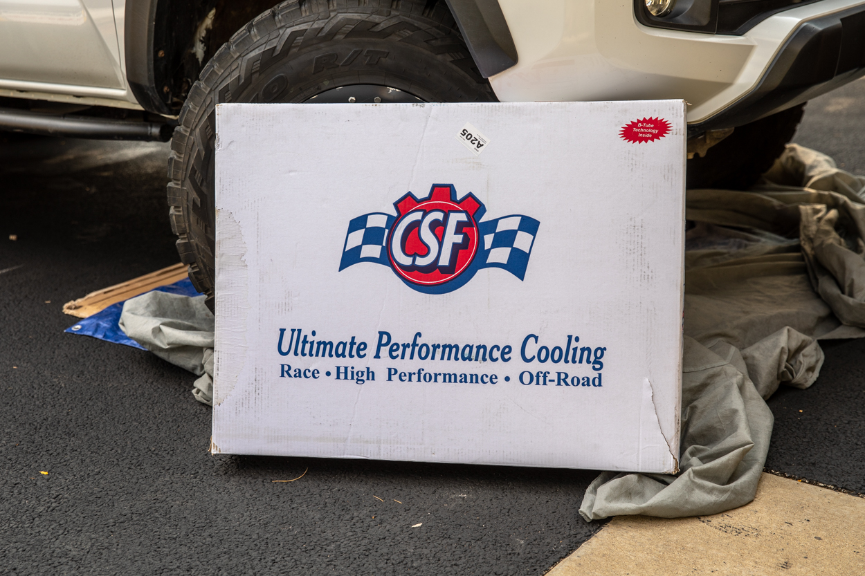 CSF All-Aluminum Heavy Duty Radiator Install & Review for 3rd Gen Toyota Tacoma