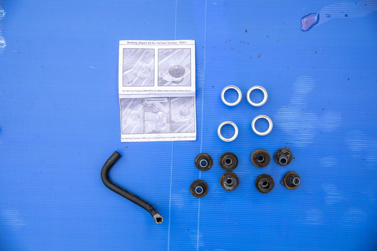 Radiator Bushing Adapter Kit for CSF Radiator Install